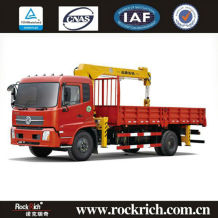 Popular truck cranes for sale(Arm, folding arm),4x2 crane trucks for sale