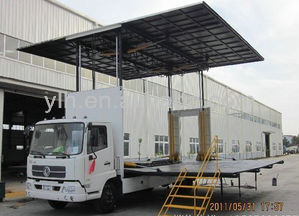 Dongfeng 4x2 DFL5120X Mobile Stage Truck Actors,China truck