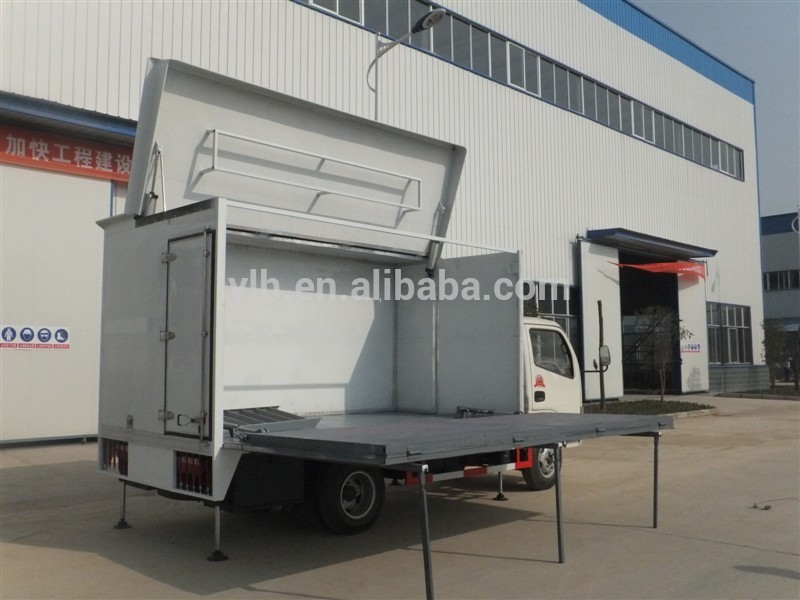 Dongfeng 4x2 20cbm LED Mobile Stage Truck For Sale,China led