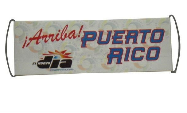 Promotional PE pull banner