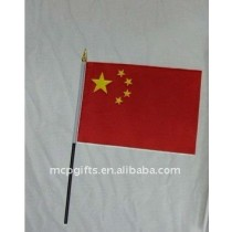 polyester Chinese printing hand flag