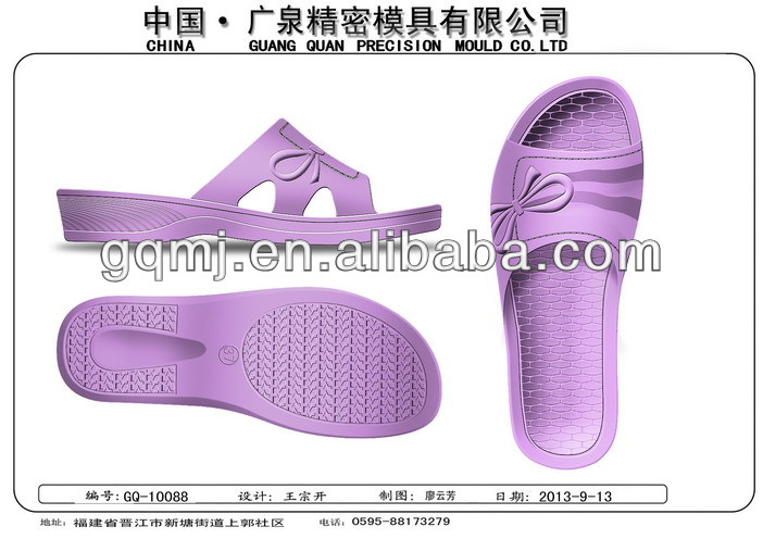 pvc full plastic mold for shoes GQWS038