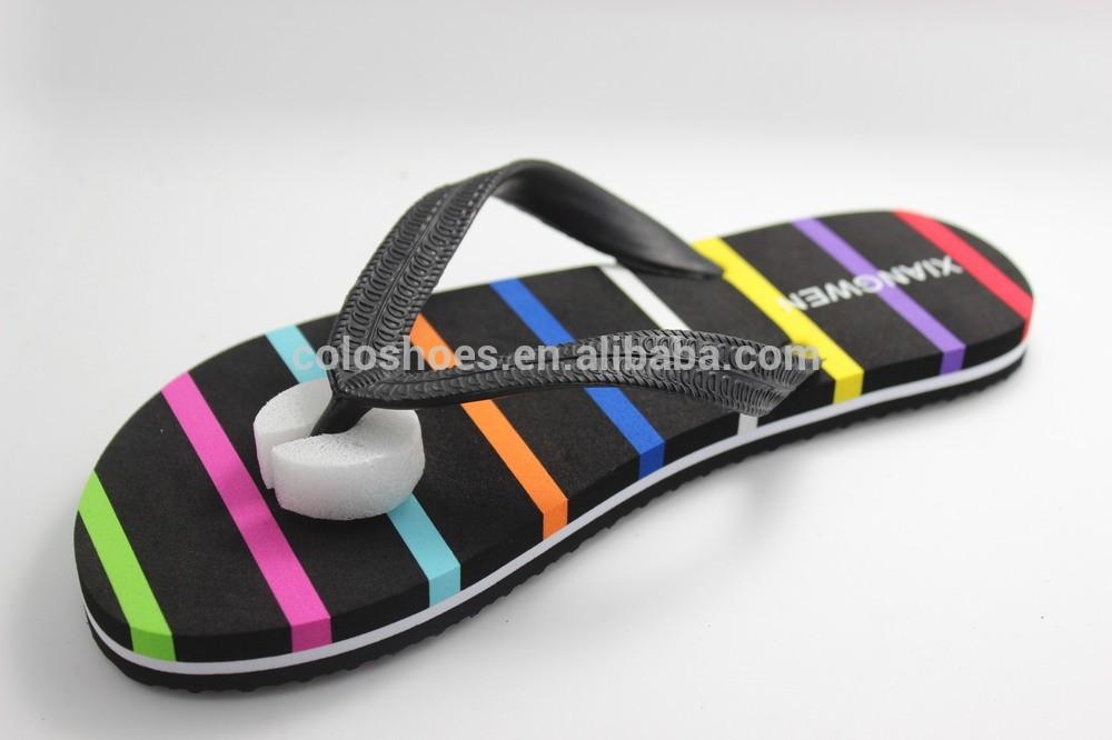 Coface Platform Rubber beach sandals for women