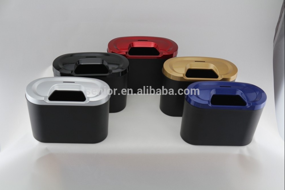 plastic car trash bin