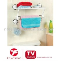 SUCTION TOWEL BAR SHELF