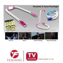 flexiable 2-head flashlight As seen on TV