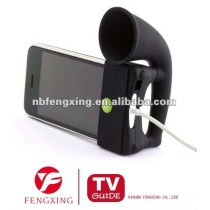 Mobile Phone Stand with Horn Shaped