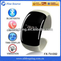 Bluetooth Watch with Vibration Function and Digital Time Display