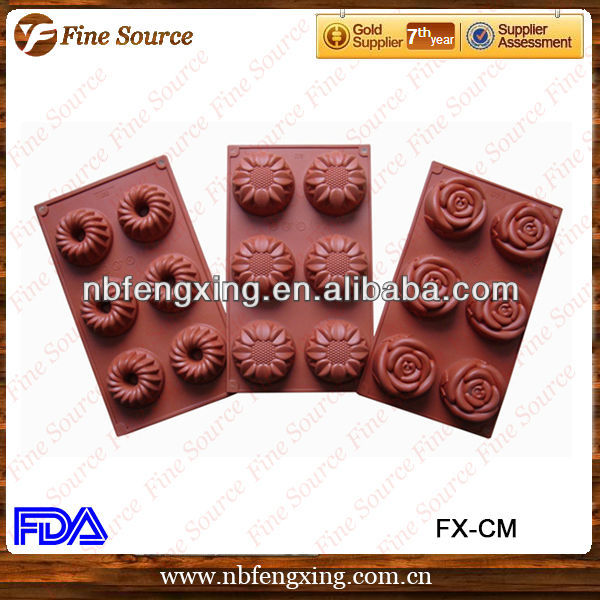 2013 Newest Eco-friendly Silicone Cake Mould