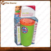 2014 New spill free wow cup Hot SALES wow cup for kids drinking cup