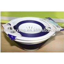 Foldable Bowl and foldable Strainer