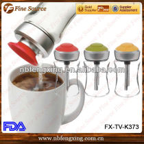 New Product stainless steel Sugar Dispenser with spout