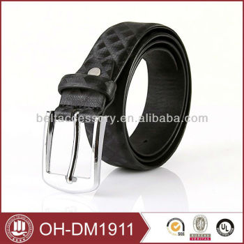 Black Color Fashion Belts