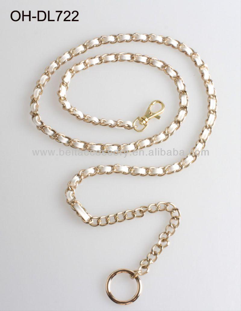 Braided Chain Belt