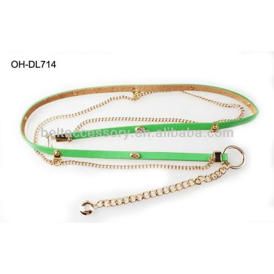 Fashion Gold Waist Chain Belt