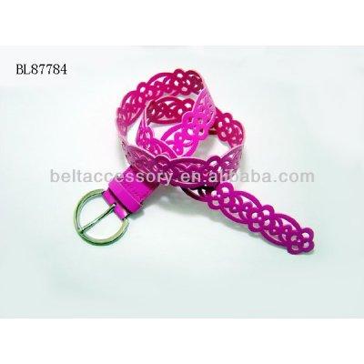 Children cutout belt strap