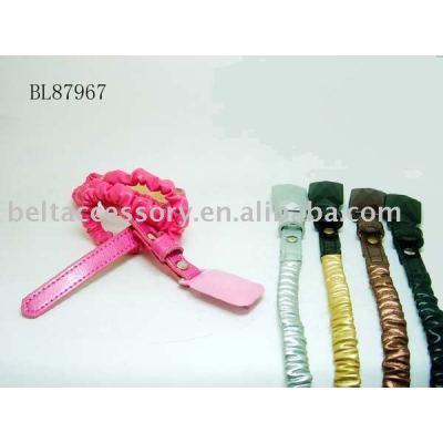 Soft PU Fashion child belt