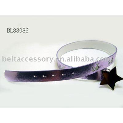 Star buckle child belts
