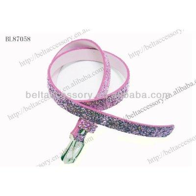 Colorful child Sequins Belts