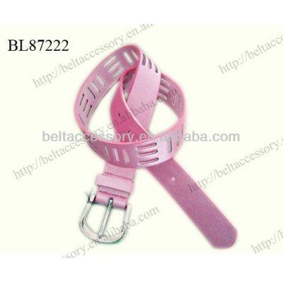 Color PINK kids cute belts