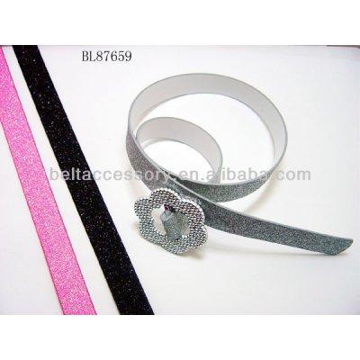 PU Fashion Kids Shiny Belt