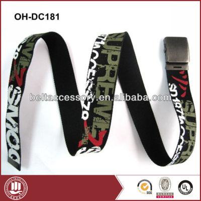 Fashion popular canvas belt