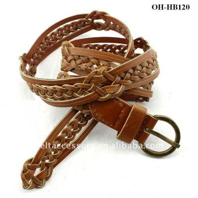 CUERO Braided Leisure Belt