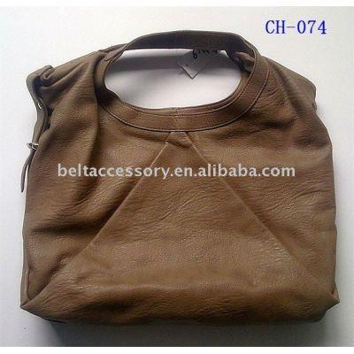 Brown Single Handle Fashion tote bag