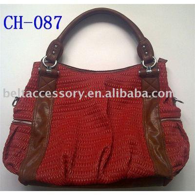 Lady's Fashion PU Handbag