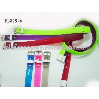 Silicone Fashion Belts