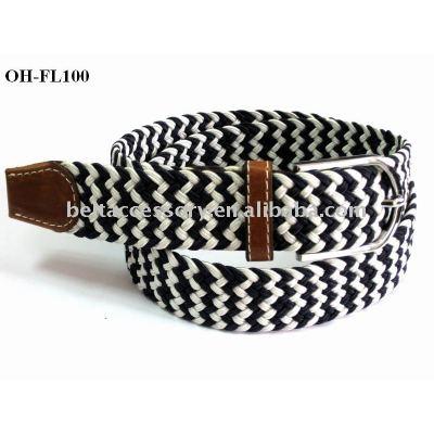 PU/Leather Knitted Elastic belt