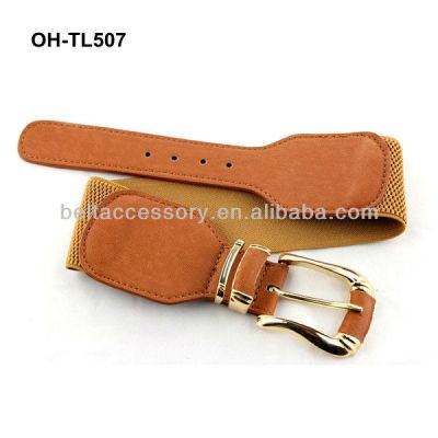 Fake tan adjustable elastic belt