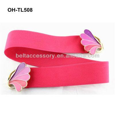 Pink elastic belt