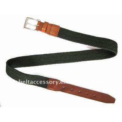 Fashion Knitted Braided Belt