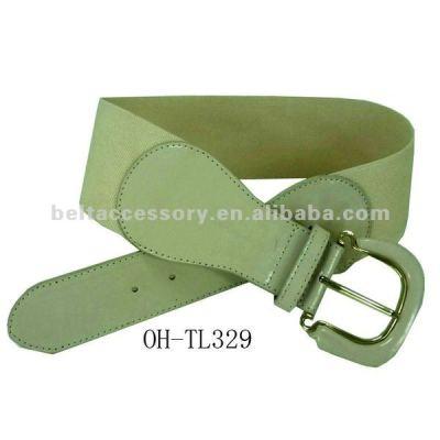 Fashion women wide elastic belt