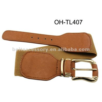 Ladies fashion elastic belt