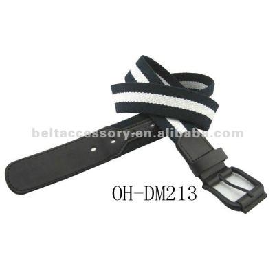Fashion fabric golf belts for men