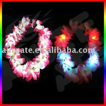 flower lei with flag color