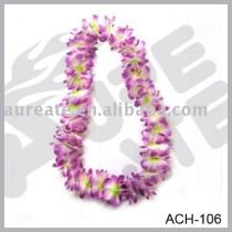 Polyester hawaii flower lei