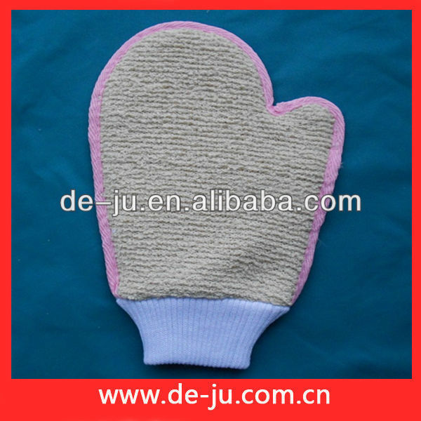 Promotion Body Cleaning Neck And Back Massage Gloves Scrub Tools