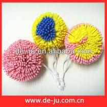 Wholesale Colourful EVA Craft Ball Bath Sponge Flower Shaped