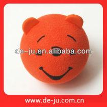 Children Ball Gift Orange Gift Bear Head Ball EVA Present