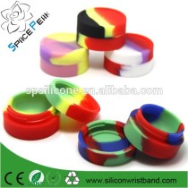 100% E-cigarette Oil Package Colorful Ball Shape Silicone Oil Wax Smoke Pack Box