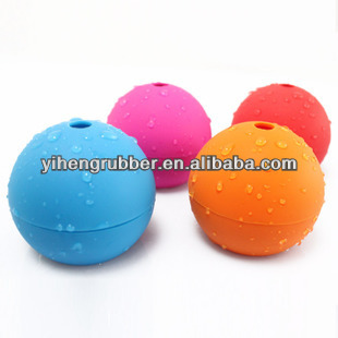 Wholesale FDA approved non-stick sphere silicone ice ball mold