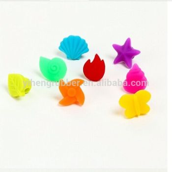 Dongguan supplier Hottest new party bar ktv silicone wine glass marker