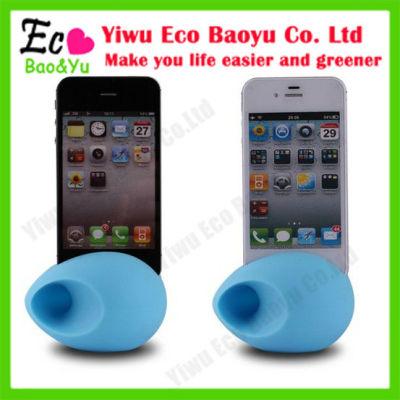 Portable Mini Silicon Phone Amplifier Speaker