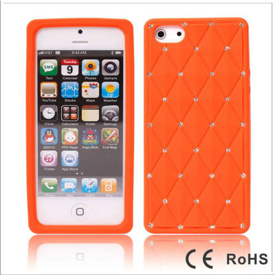 Crystal Silicon Moblie Phone Case