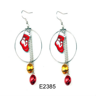 Merry Christmas Earring / Christmas Bell Earring