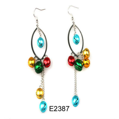 Cheap Christmas Earring / Christmas Bell Earring / Christmas Drop Earring