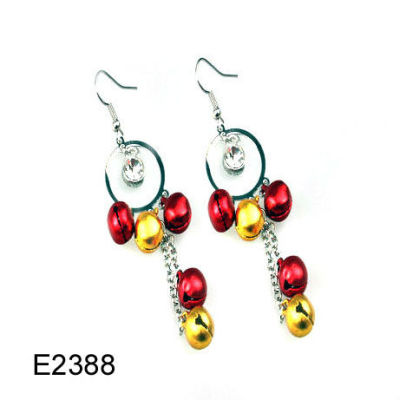 Cheap Christmas Earring / Jingling Bell Earring / Christmas Bell Earring